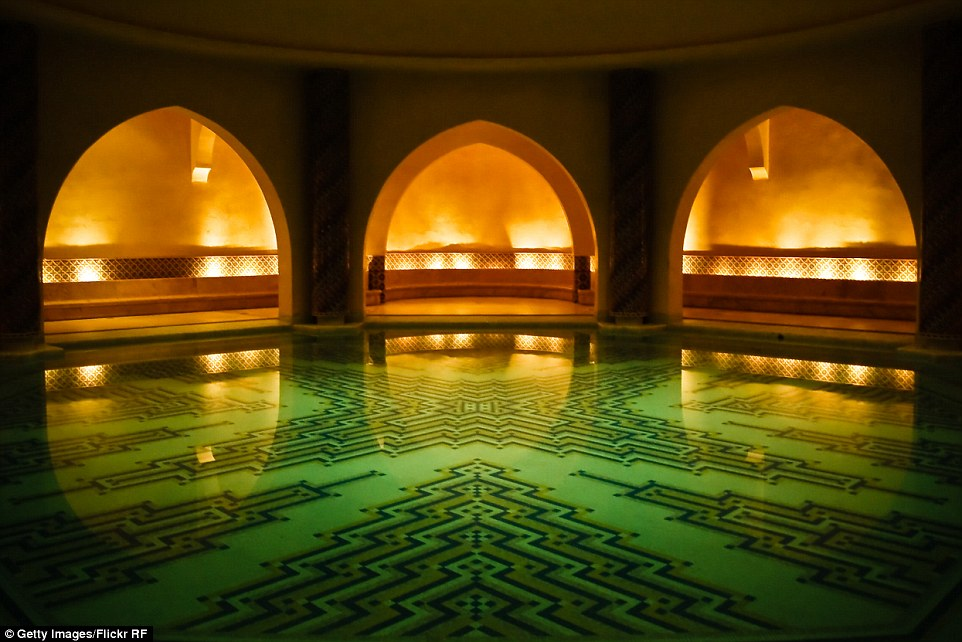 Instead of paying hundreds at a high-end hotel, holidaymakers can spend as little as 20 dirhams for entry into a local hammam