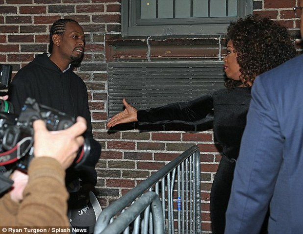 Winfrey - who boasts a $3 billion fortune - would allegedly send gifts to the boy with notes addressed: 'To my son Calvin, I love you'