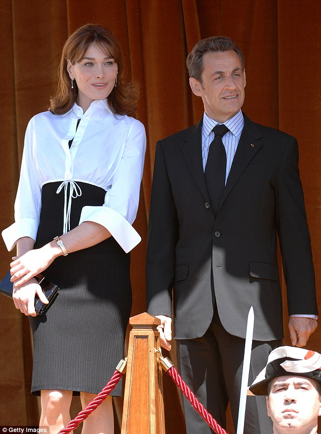 A judge ordered two mobile phones belonging to Nicolas Sarkozy  be examined in relation to a £35million cocaine smuggling scandal. Mr Sarkozy is pictured with his third wife - former supermodel Carla Bruni