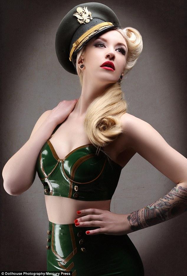 Former Ugly Duckling Burlesque Dancer Lulu Vesper Is