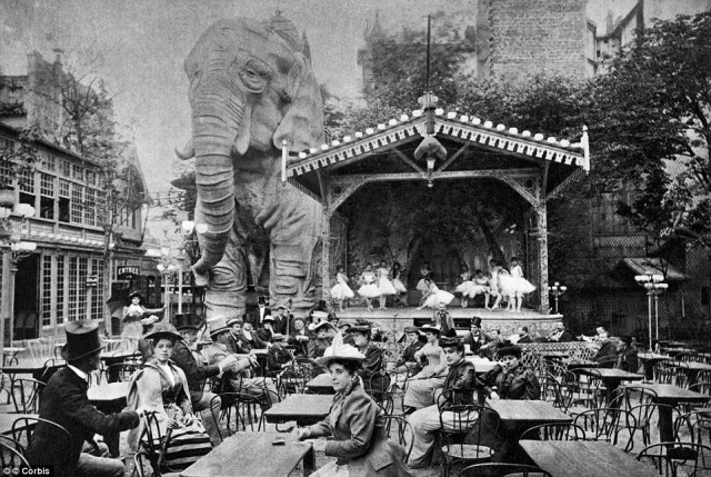 Midnight in Paris: Its notorious reputation was fuelled further by the addition of a giant wooden elephant in 1900 which had a room in its belly for intimate dances