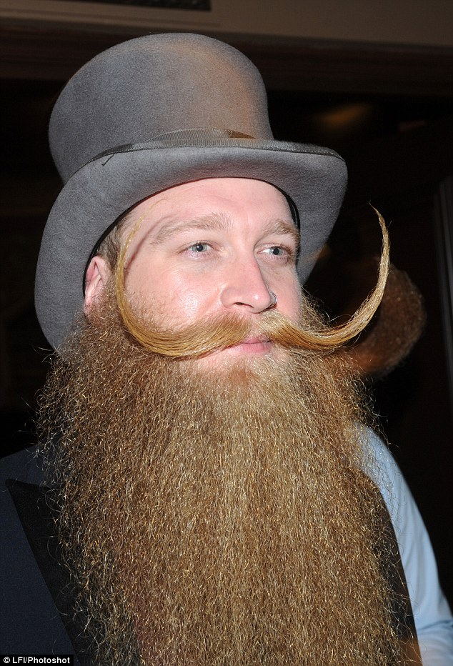 Men Show Off Facial Hair At National Beard And Moustache