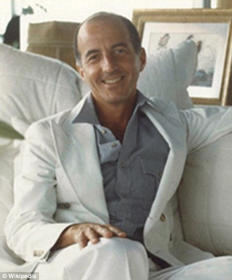 Behind the design:Angelo Donghia, known as 'the Saint Laurent of sofas', designed Trump's penthouse in Louis XIV-style. His list of clients beyond Trump includedRalph Lauren, Barbara Walters, Mary Tyler Moore, Liza Minelli, Neil Simon and Diana Ross