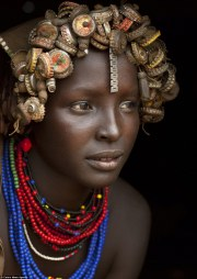 african dassanech tribe turning