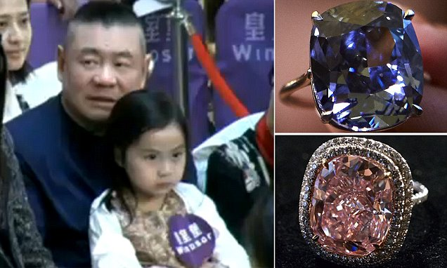 Joseph Lau Spends 50M On Two Diamonds For His Seven Year