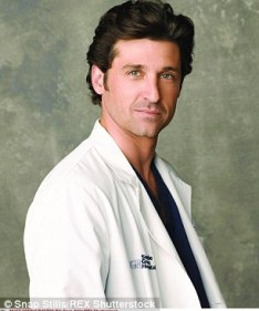 Image result for patrick dempsey grey's anatomy