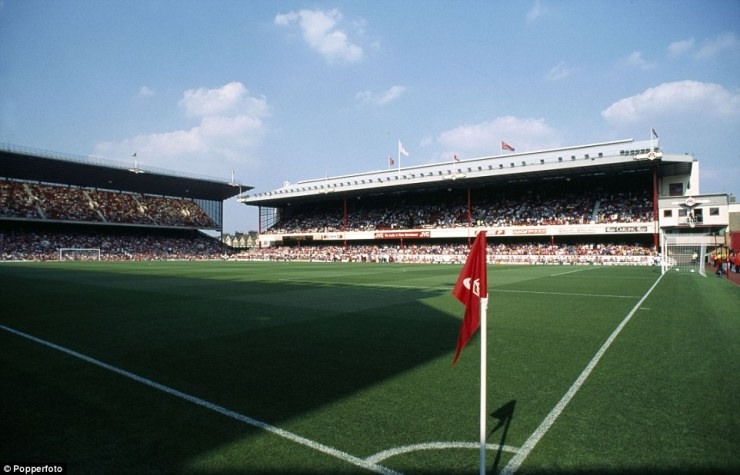 Highbury was Arsenal's home ground from 1913 until 2006 in north London and the stadium had an attendance of 38,419 when it closed
