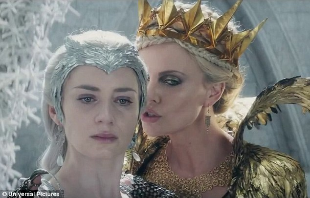 Do you want to build a snowman? Emily Blunt and Charlize Theron star as sisters in the first full trailer for The Huntsman: Winter's War