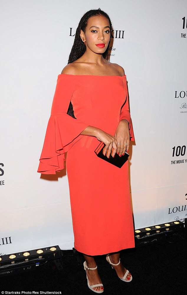 Poetic Justice-inspired? Solange Knowles debuted her new waist-length braids while attending the Louis XIII screening of 100 Years in Beverly Hills on Wednesday
