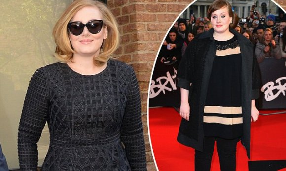 Adele hits back at questions over her weight after ...