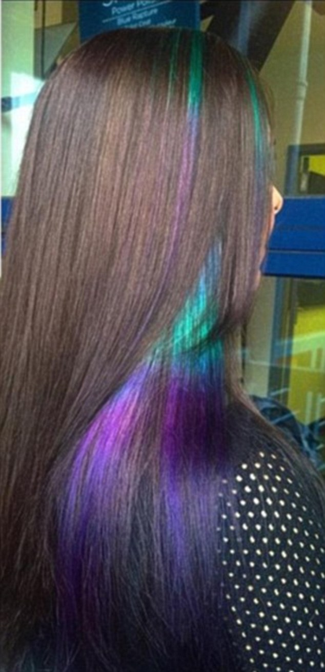 Jaye Harkness Secret Rainbow Hair Is Taking The Internet