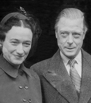 The Masonic connections of figures such as Sir Winston Churchill and Edward VIII (pictured, with Wallis Simpson) are known