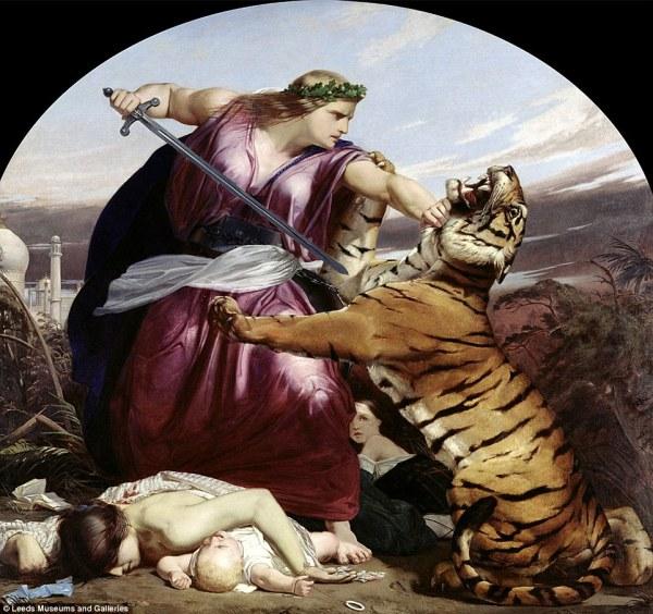 Edward Armitage Paintings