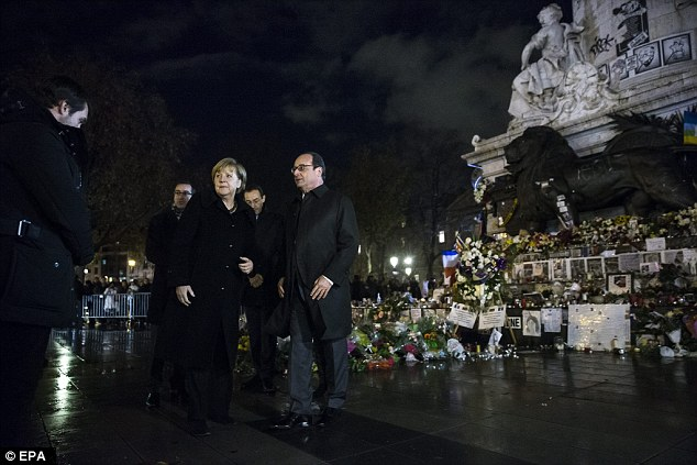 Hollande has called for people to hang French flags out of their window on the day of mourning