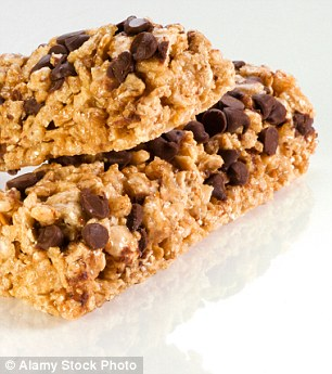Cereal bars are often packed with hidden sugars which can undermine any nutritional value