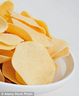 Light crisps are often high in salt