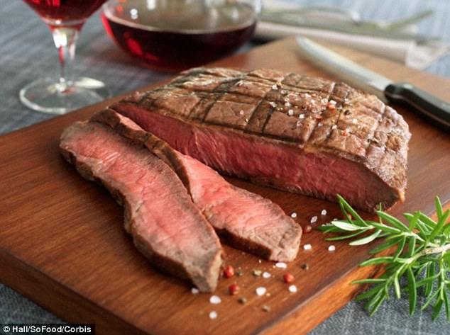 People who ate the most red meat had a 47 per cent higher chance of suffering an ischemic stroke - the most common form of the condition - than those who ate the smallest quantities of red meat, bacon and sausages, researchers at the University of Wurzburg discovered