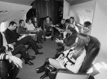 Fascinating look inside glamorous Playboy jet Big Bunny