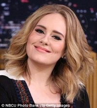 All I want for Christmas is Adele's hair! JULIA LAWRENCE ...