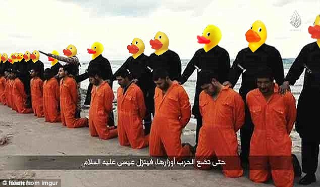 The online activists want to digitally manipulate as many propaganda images as possible to discredit ISIS