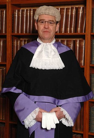 Disciplined: Judicial watchdogs have ruled that Judge Robert Stephen Dodds' brutally blunt comments amounted to serious misconduct