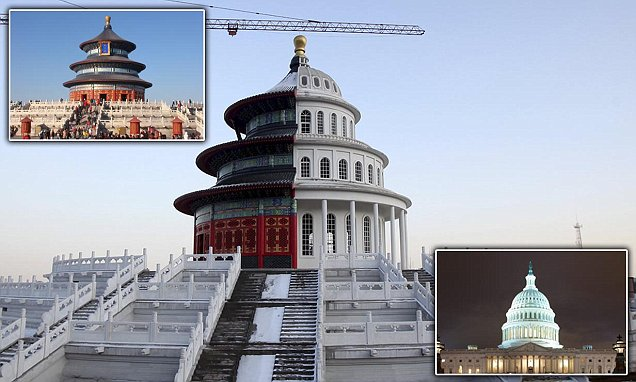Hybrid Building Combines Chinas Temple Of Heaven With US