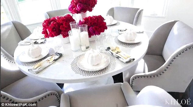 Khloe Kardashian Brings Camera To Her Thanksgiving Dinner