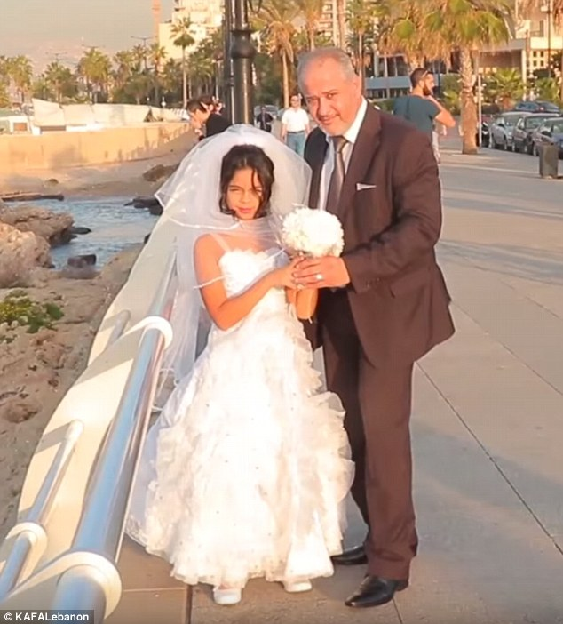 Congratulations Grey Haired Groom Marries 12 Year Old Girl In