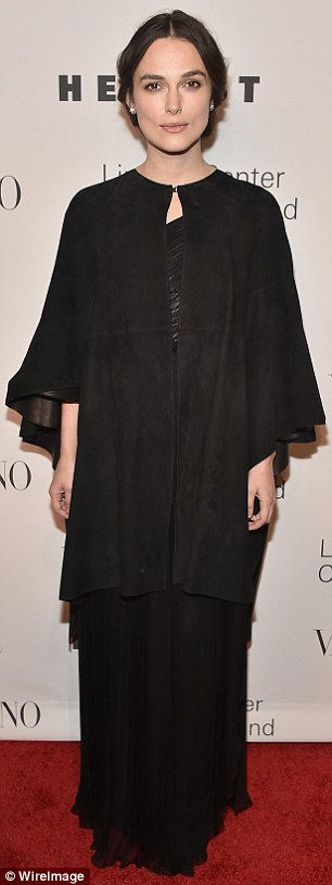 Keira Knightley Stuns At Valentino Event With Husband