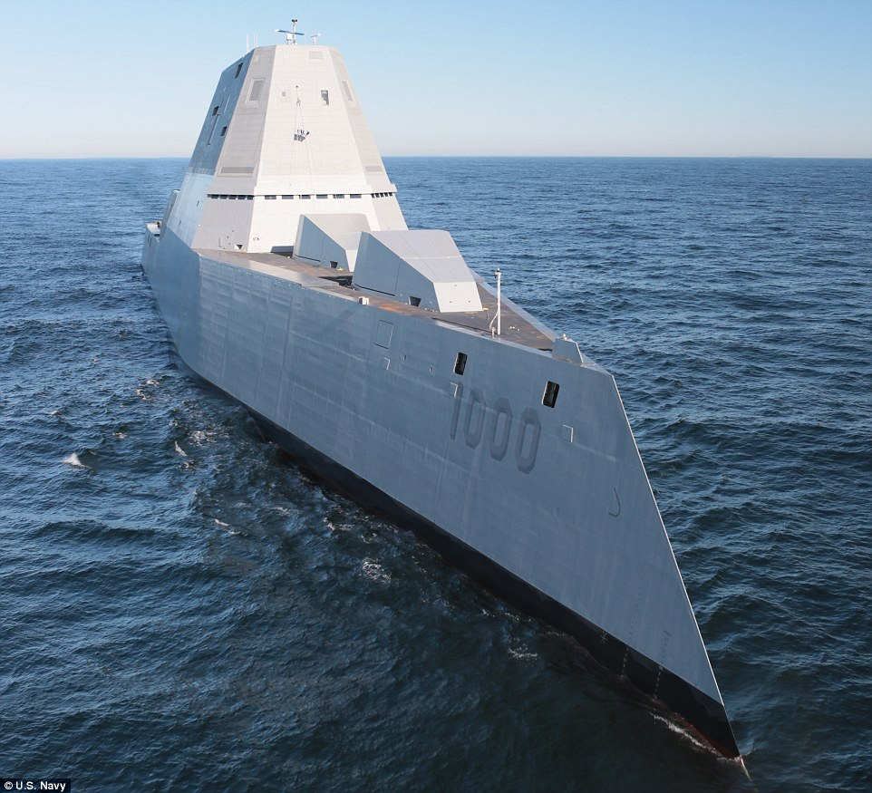 Advanced automation will allow the warship to operate with a much smaller crew size than current destroyers.