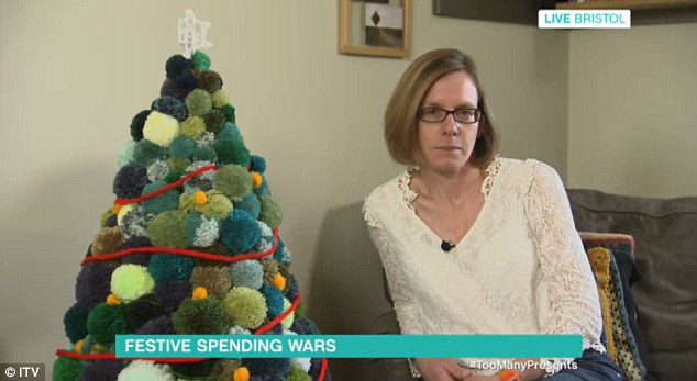 Jen Gale appeared to debate with Emma on This Morning as she said she is against consumerism and prefers homemade gifts. Even her Christmas tree is made from pom poms