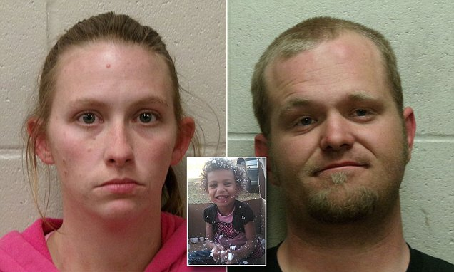 Oklahoma mother and boyfriend arrested for rape and murder of her four-year-old daughter