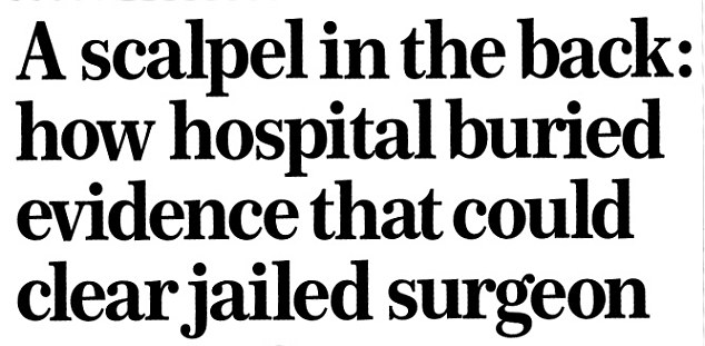 Surgeon David Sellu wins right to appeal James Hughes