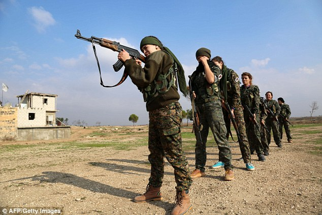 With its limited combat experience, the unit for now focuses mainly on protecting majority Christian parts of Hasakeh province