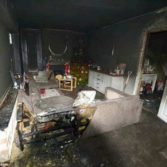 Sofa Cheap Uk Pottery Barn Denim Electric Unicycle Sparks Fire Which Guts House In ...