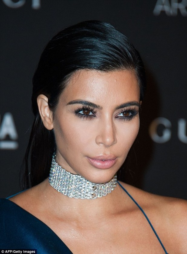 Only fair: Kim had a difficult pregnancy and extremely painful labor after suffering placenta accreta, a serious complication