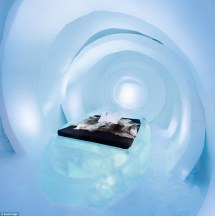 Ice Hotel Opens Doors Reveal Year'
