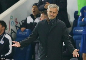 Jose Mourinho accuses Chelsea flops of 'betrayal' as boss gives up ...
