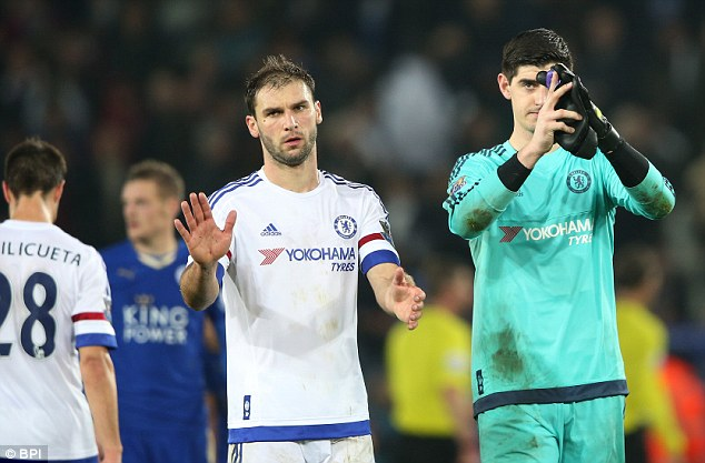 Branislav Ivanovic has had a terrible season but in a side lacking leadership his role remains important