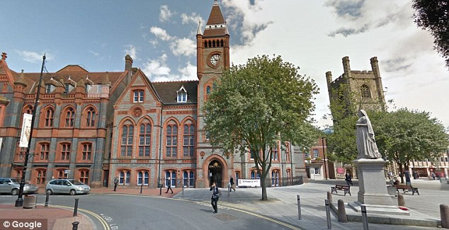 The inquest at Reading Town Hall, pictured, heard Dr Bedford had become 'extremely anxious' about the ringing in his ears and refused to take medication for anxiety in case it made his condition worse