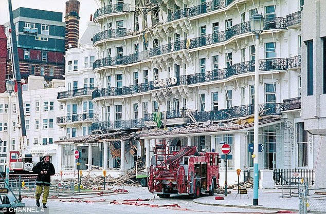 Five people died and 39 people were injured when the bomb, planted by the IRA's Patrick Magee, detonated on the sixth floor of the Grand Hotel in Brighton - in an attempt to kill the then-Prime Minister Margaret Thatcher