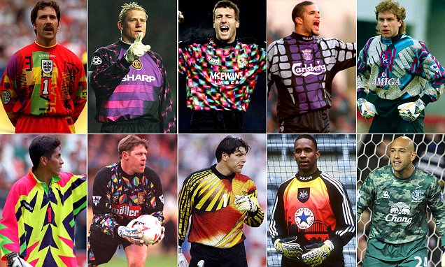The 20 Worst Goalkeeper Kits In History From Joe Hart And