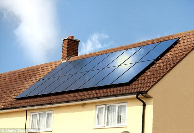 The feed-in tariff is available to people who want to fit solar panels to their home but they will now get less money back for the electricity their panels generate