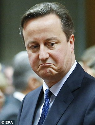 While David Cameron was in Brussels meeting EU leaders, his ministers and officials were bundling out announcements