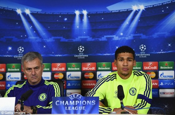 Ruben Loftus-Cheek (right) was one of those whose confidence was destroyed by manager Mourinho
