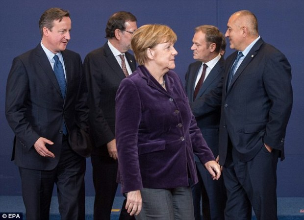 German Chancellor Angela Merkel said she would be supportive of Mr Cameron, but only if his renegotiation demands stayed in line with current EU treaties