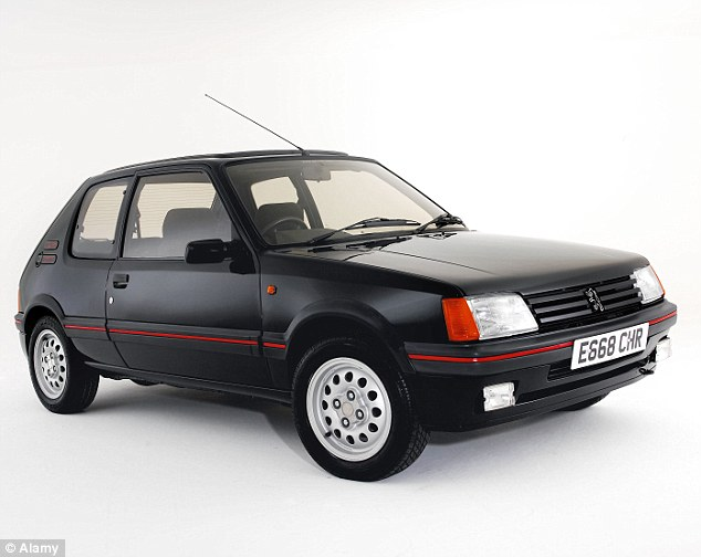 Hot hatch: The Peugeot 205 GTI is a cheaper way into classic motoring but prices have been rising fast