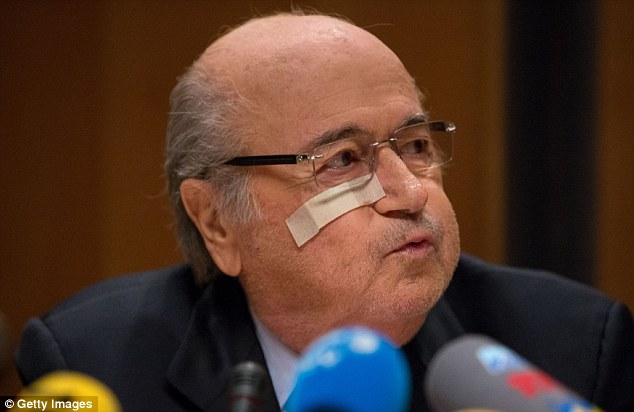 Blatter insisted only the FIFA congress could remove him as president, not the ethics committee
