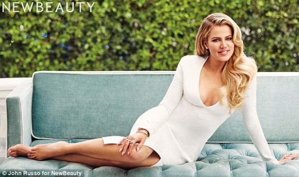 Secret to her success: Much ado has been made of how Khloé Kardashian transformed her 5ft10 figure over the last year, but one major lifestyle change made it even easier