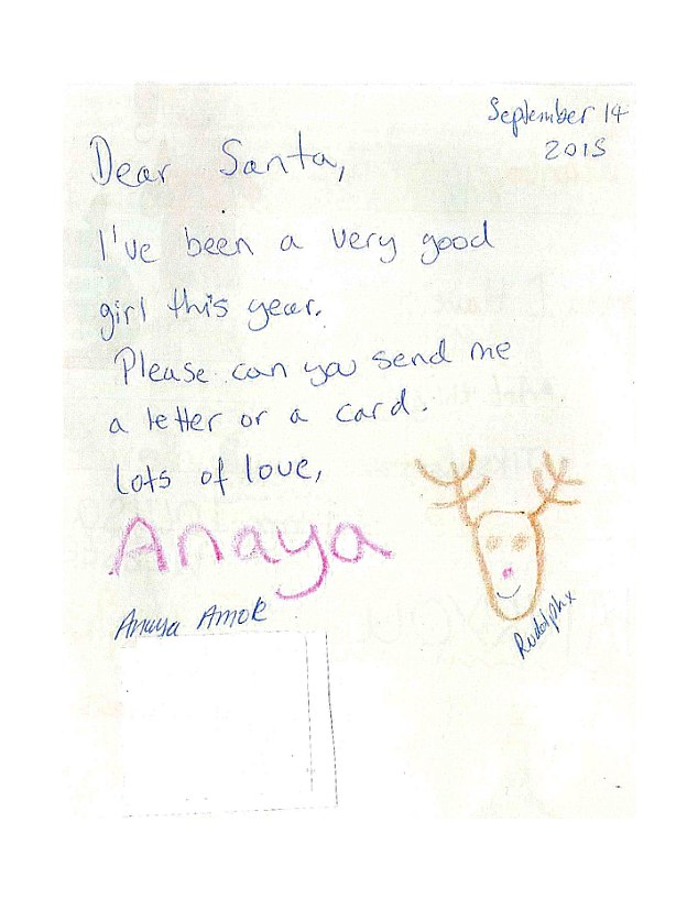 Royal Mail Reveal Some Of The Letters Sent By Children To